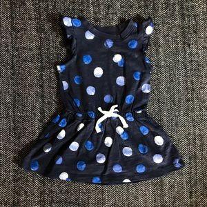 Oshkosh polka dotted dress size 2t.